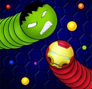 Snaky .io - Fun Multiplayer Slither Battle